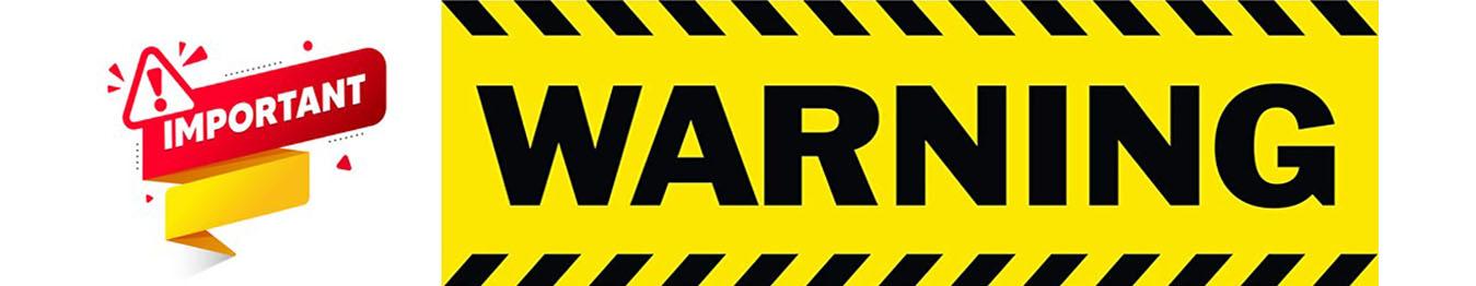 Banner cảnh báo