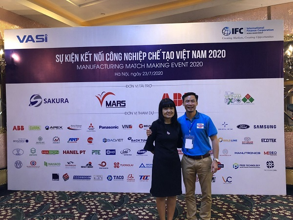 Công ty TNHH Thép đặc biệt Phương Trang tham dự sự kiện Kết nối ngành Công nghiệp chế tạo 2020